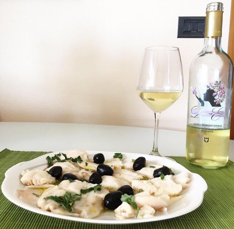 Merluzzo con aglio e olio