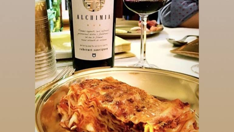 Lasagne e Cabernet Sauvignon