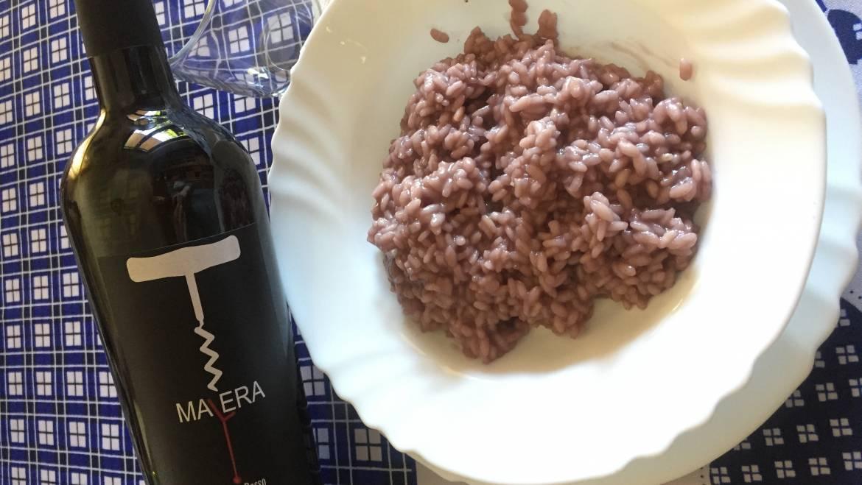 Risotto al Vino Rosso Malera