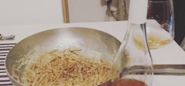 Capunti con Gorgonzola e Noci